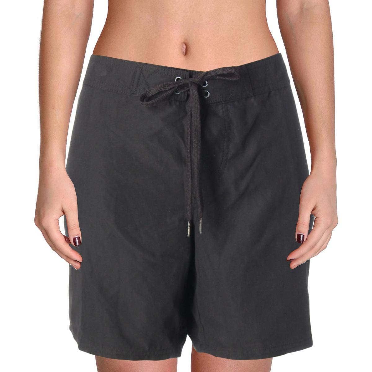 O'Neill Women's Atlantic 7 inch Boardshorts, Black, 13
