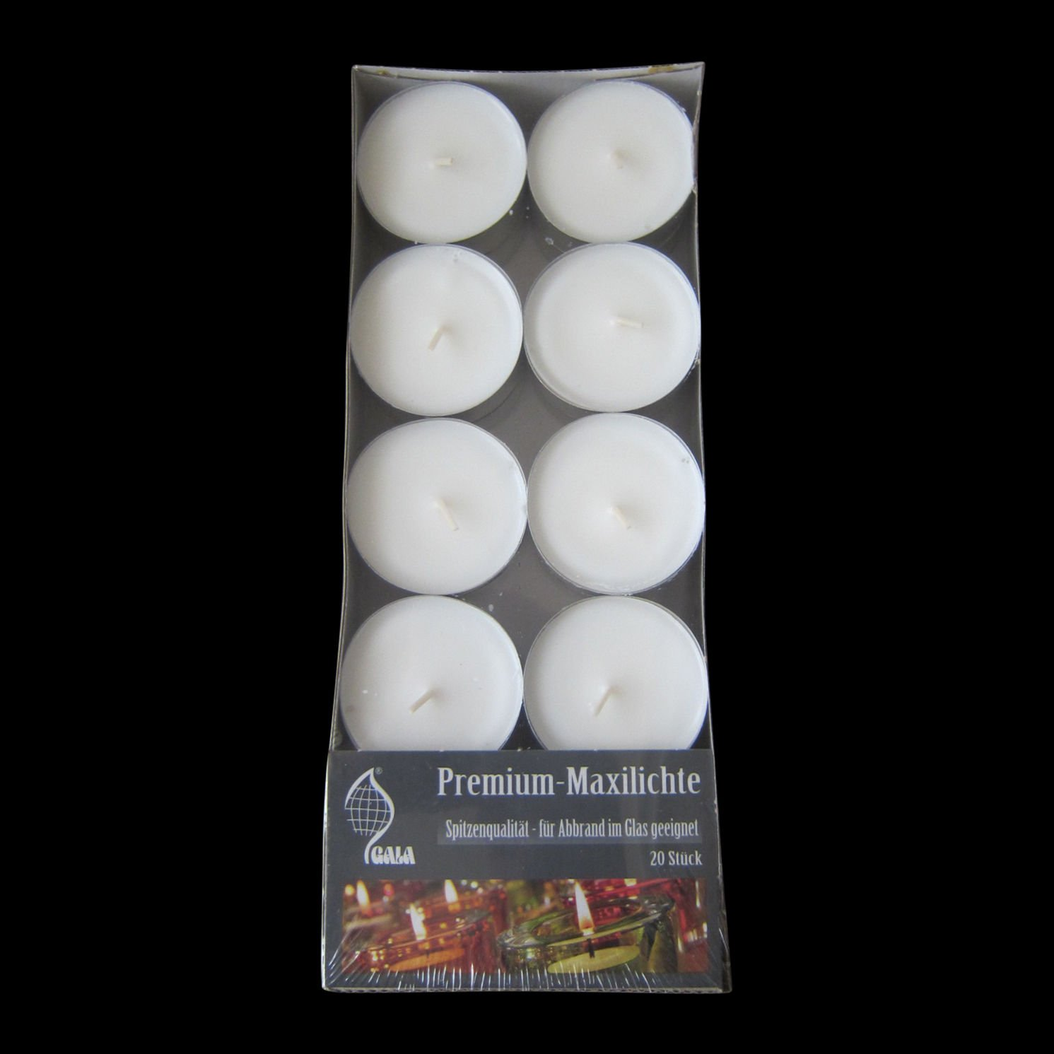 10hr burn Premium Quality Tea Lights - High Quality for Events/Restaurant/Party