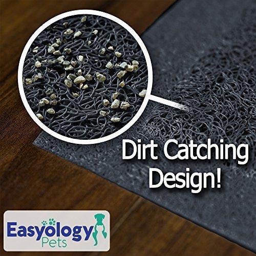 Easyology Premium Cat Litter Mat Non Toxic Xl Super Size
