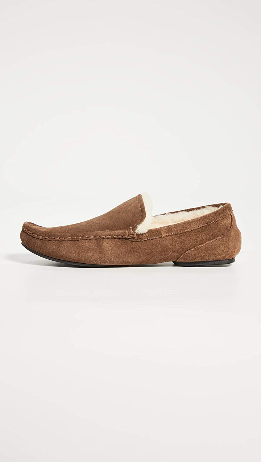 Relax Suede Moccasin Slipper