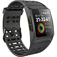 iKeeGan GPS Running Watch Fitness Tracker Waterproof Smart Watch Activity Tracker with Real Time Heart Rate Monitor Sleep Monitor HRV Analysis and 17 Sports Modes & 7 Runing Modes for Men Women Kids