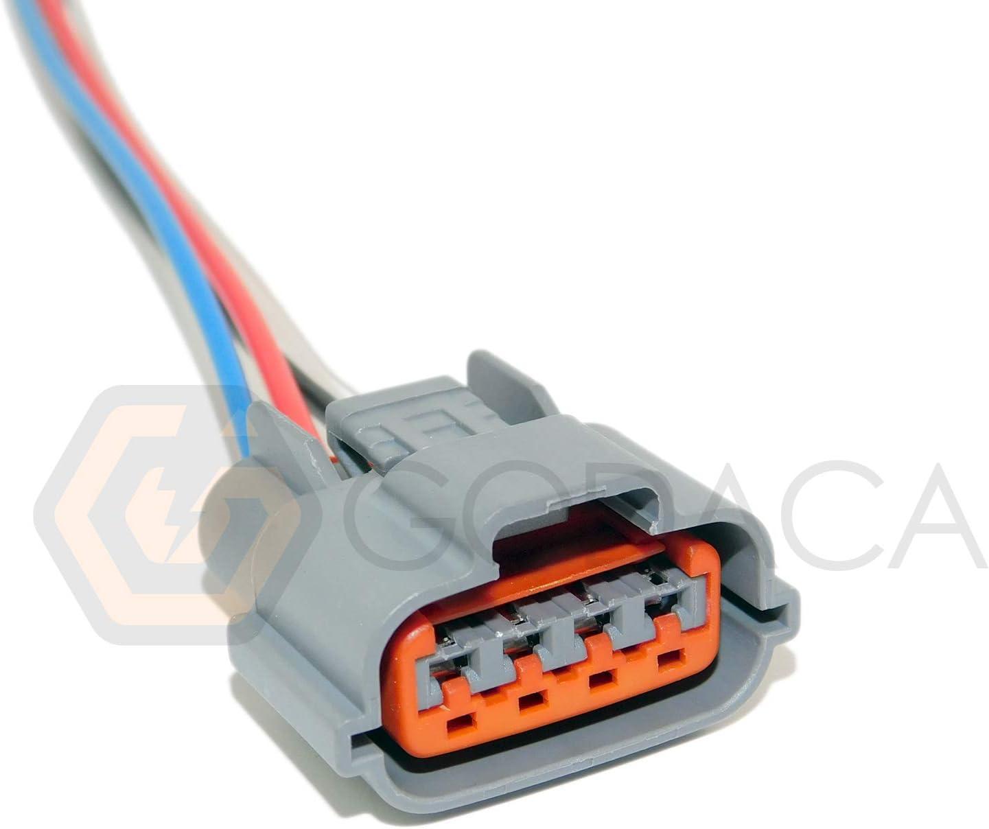 Amazon Com 1x Connector 4 Way 4 Pin For Alternator Nissan 23100 9y500 Automotive