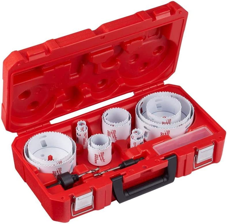 Milwaukee 21 Piece Bi-Metal All Purpose Hole Saw Kit With Case - MADE IN USA