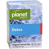 Planet Organic Detox Herbal Tea 25 Teabags