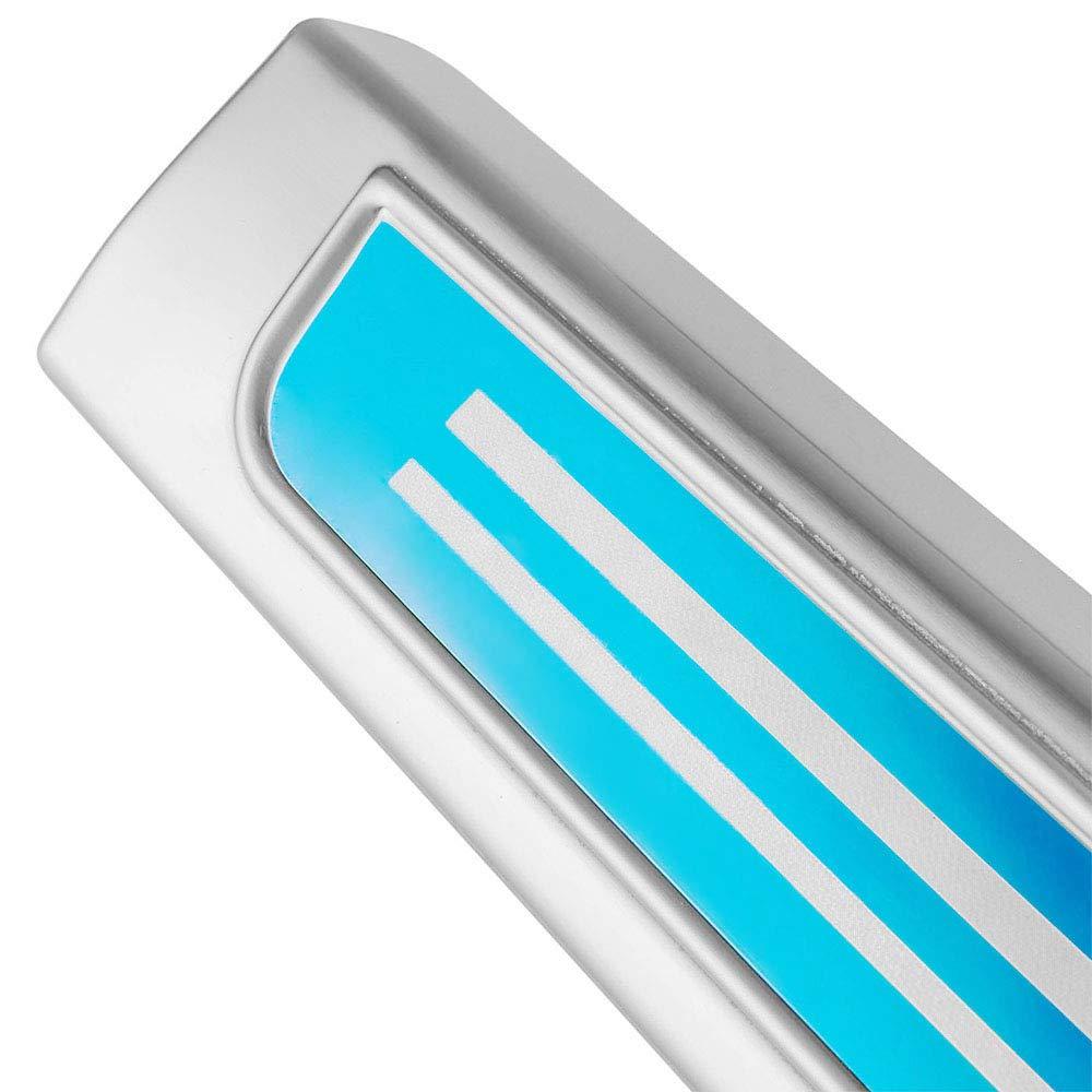 red LED External 4 pcs Leesville New 2016-2018 for Honda Civic Door Sill Protector Acrylic External Inner 4 Pcs Door Sill Scuff Protector Nondestructive Installation Car Door Sill Scuff Plate