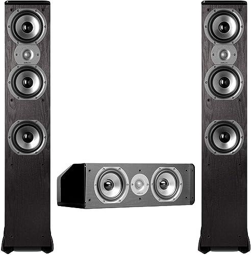 Polk Audio TSi400 3.0 Home Theater Speaker Package Black