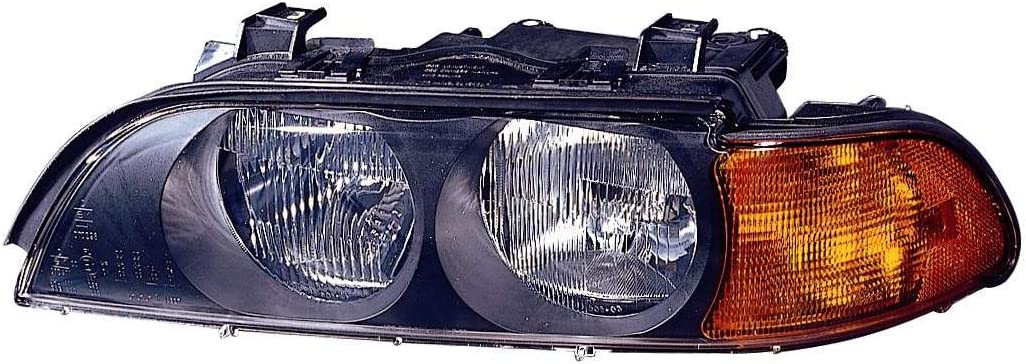 Depo 344-1110R-ASD BMW 5 Series Passenger Side Replacement Headlight Assembly