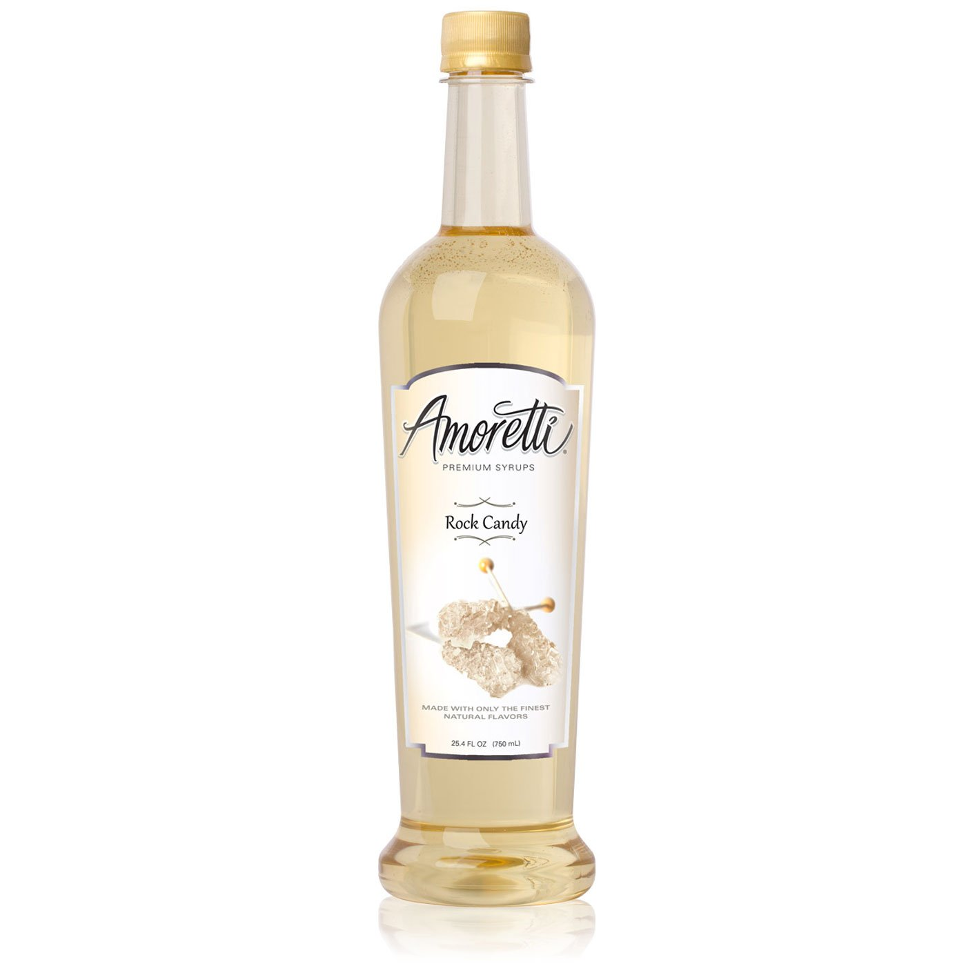 Amoretti Premium Syrup, Rock Candy, 25.4 Ounce