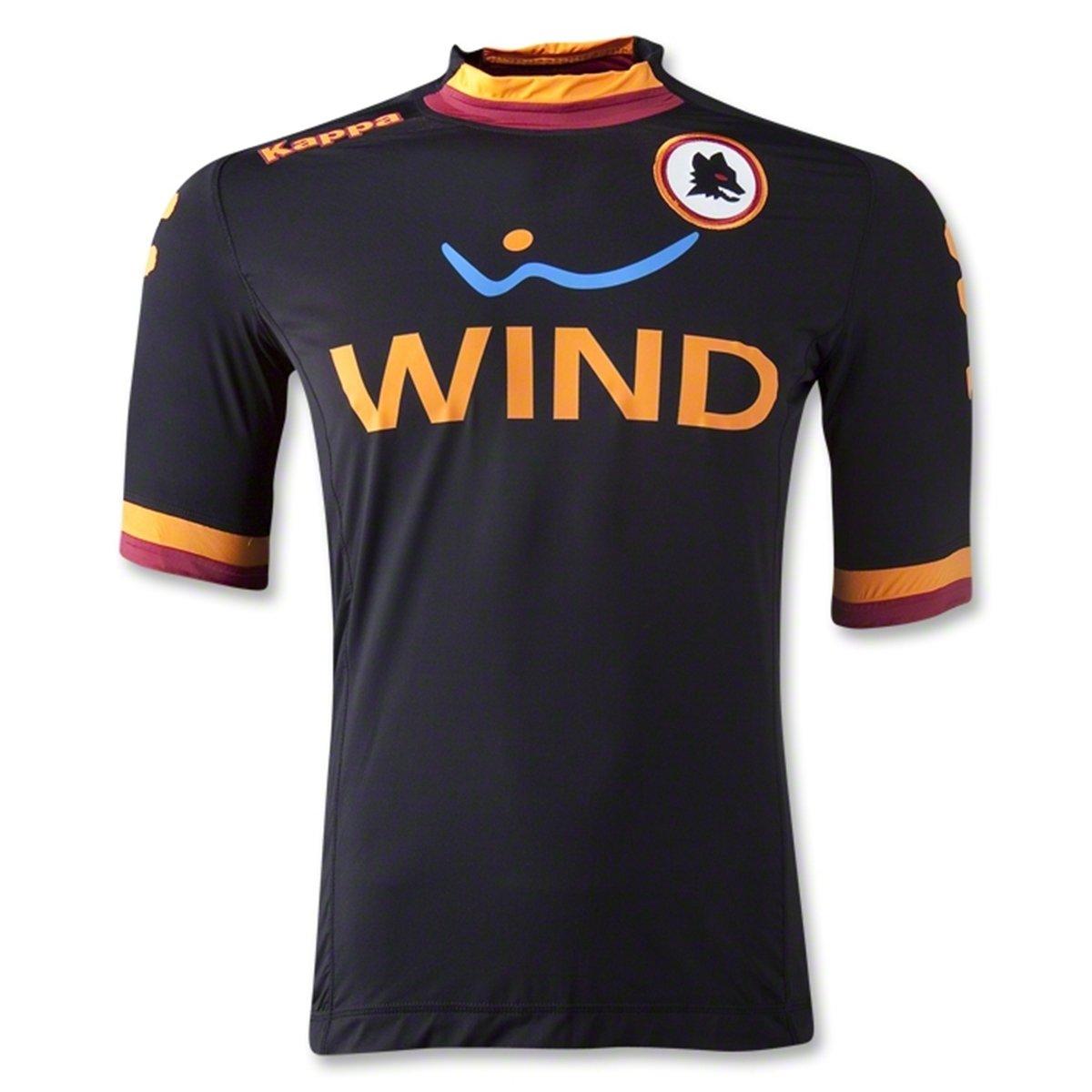 Kappa 2012-13 Roma 3rd Football Soccer T-Shirt Maglia