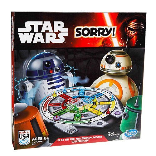 Sorry! Star Wars Edition Family Board Game 2014