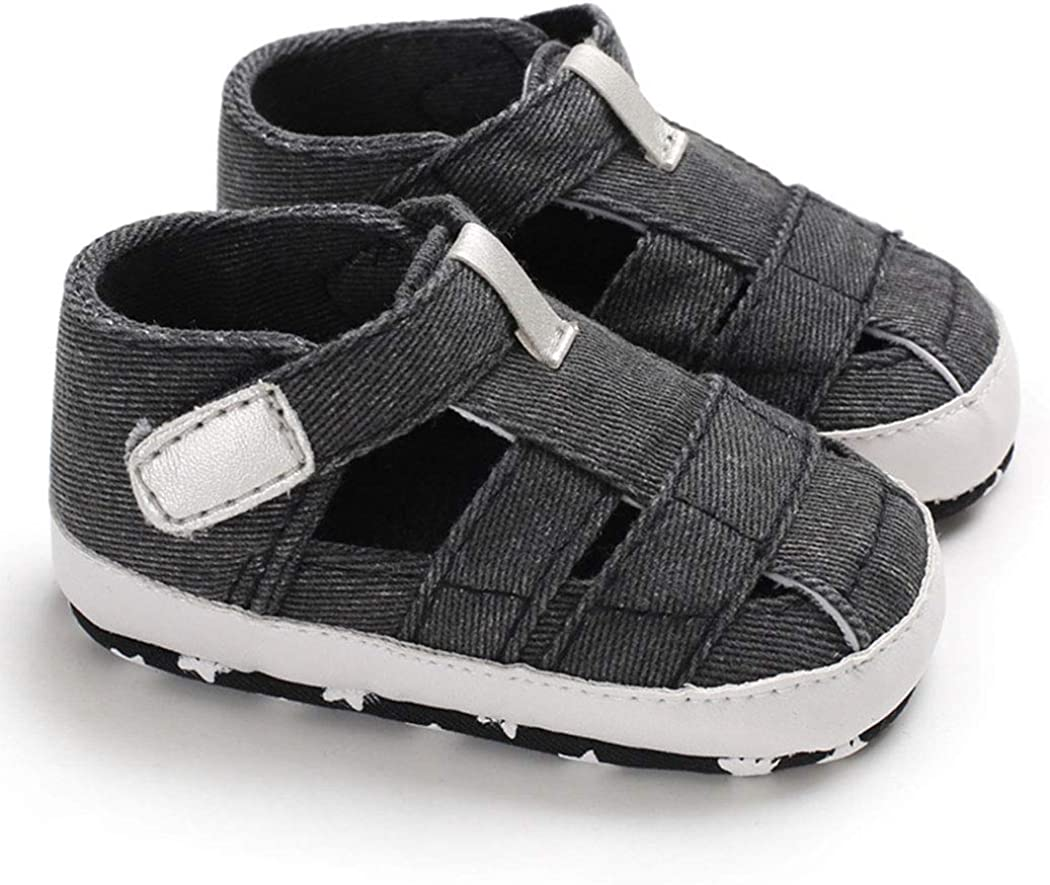 0-18 Months Baby Boy Sandals Anti-Slip Sole First Walkers Summer Shoes Infant Sandals for Toddler Girls