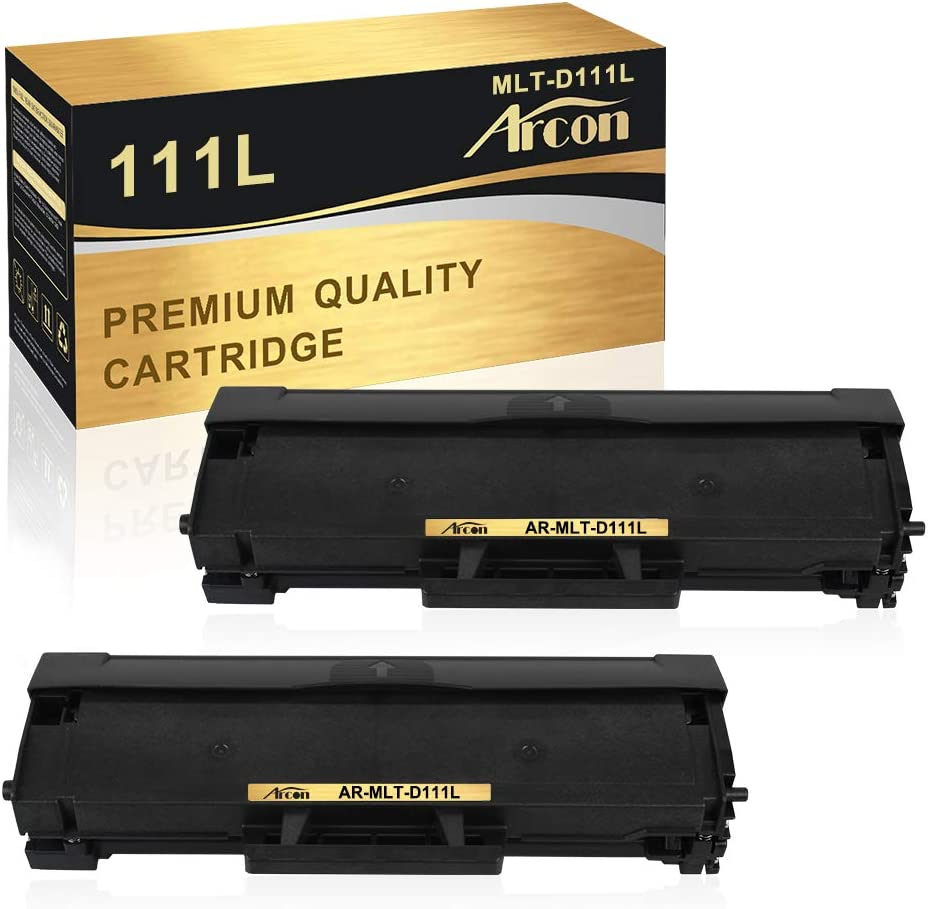 Arcon - Cartucho de tóner compatible para Samsung MLT-D111S D111S MLT D111S MLT-D111L para Samsung Xpress M2070W M2026W M2020 M2022W SL-M2070W SL-M2026 SL-M2020 M2020W M20 M2070 Tóner M2070FW