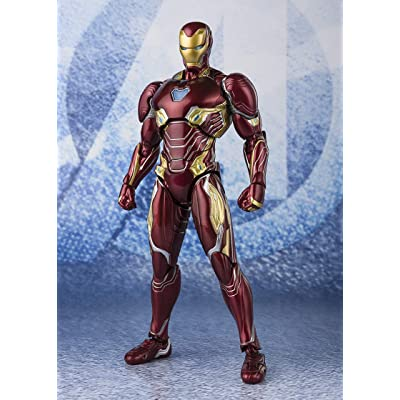 TAMASHII NATIONS Bandai S.H. Figuarts Iron Man MK-50 Nano Weapon Set 2 (Endgame Ver.): Toys & Games
