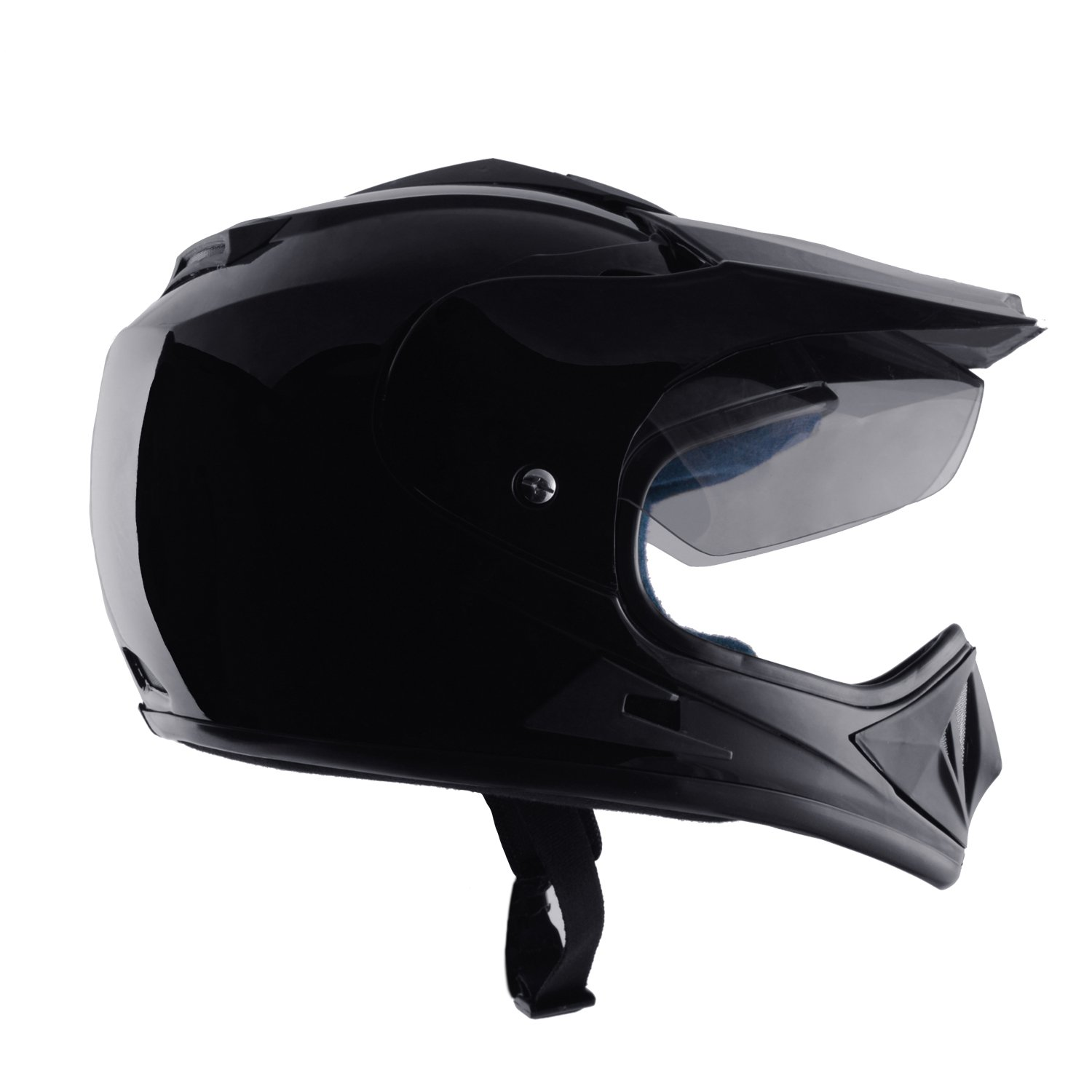 9a609a90 Autofy O2 On Road Full Face Motorcross Helmet With Tinted Scratch Resistant  Visor (Black,M): Amazon.in: Car & Motorbike
