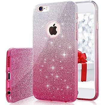 iphone 6 pink glitter case
