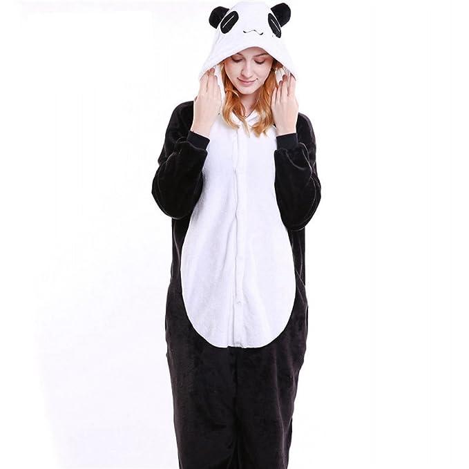 9dae22fbba Amazon.com  IFLIFE Onesie Pajamas Animal Costume Adult Unisex Hooded Sleepwear  Cosplay  Clothing