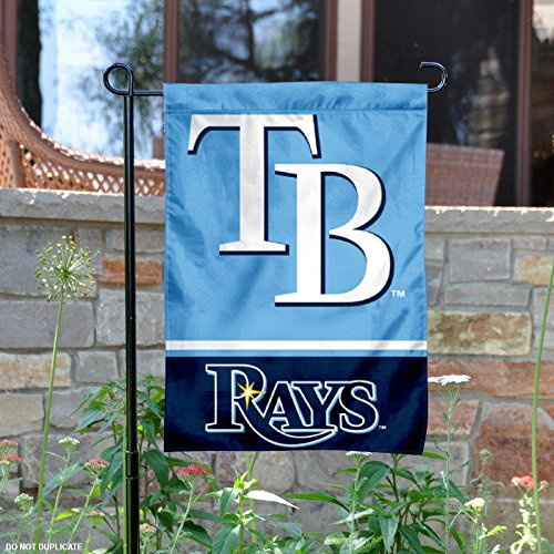 Tampa Bay Rays Double Sided Garden Flag – Sports Center Store