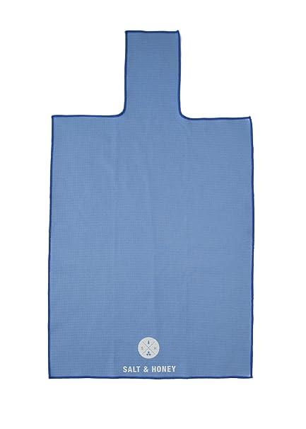 9fab5ad4b67 Amazon.com   Salt   Honey Non-Slip Pilates Reformer Towel (Blue ...