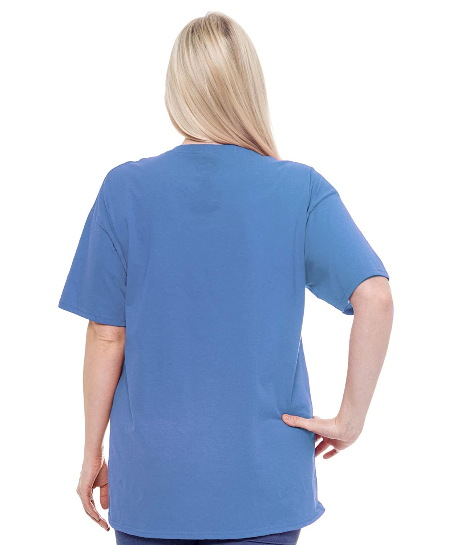 474e6ad852b Amazon.com  Disney Women s Plus Size T-Shirt Mickey   Minnie Mouse Print  100% Cotton  Clothing