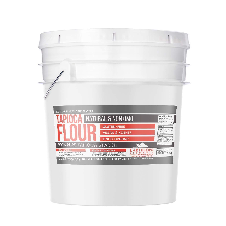 Amazon.com : White Rice Flour (1 Gallon Bucket, 7 lbs) by