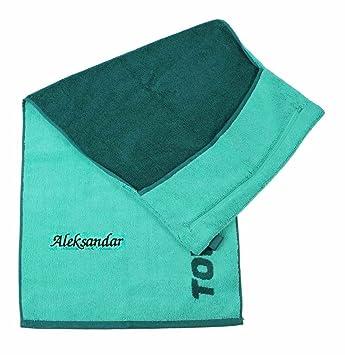 Towell Towel Plus Fitness Handtuch Grün Mit Namen Oder Wunschtext