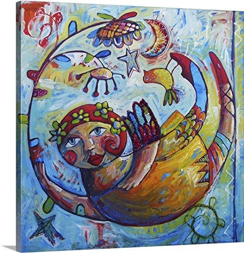 sara-catena-premium-thick-wrap-canvas-wall-art-print-entitled-in-the-vortex