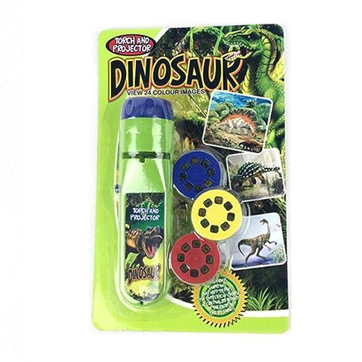 eronde Linterna de Pared y proyector de Dinosaurio, luz de Noche ...