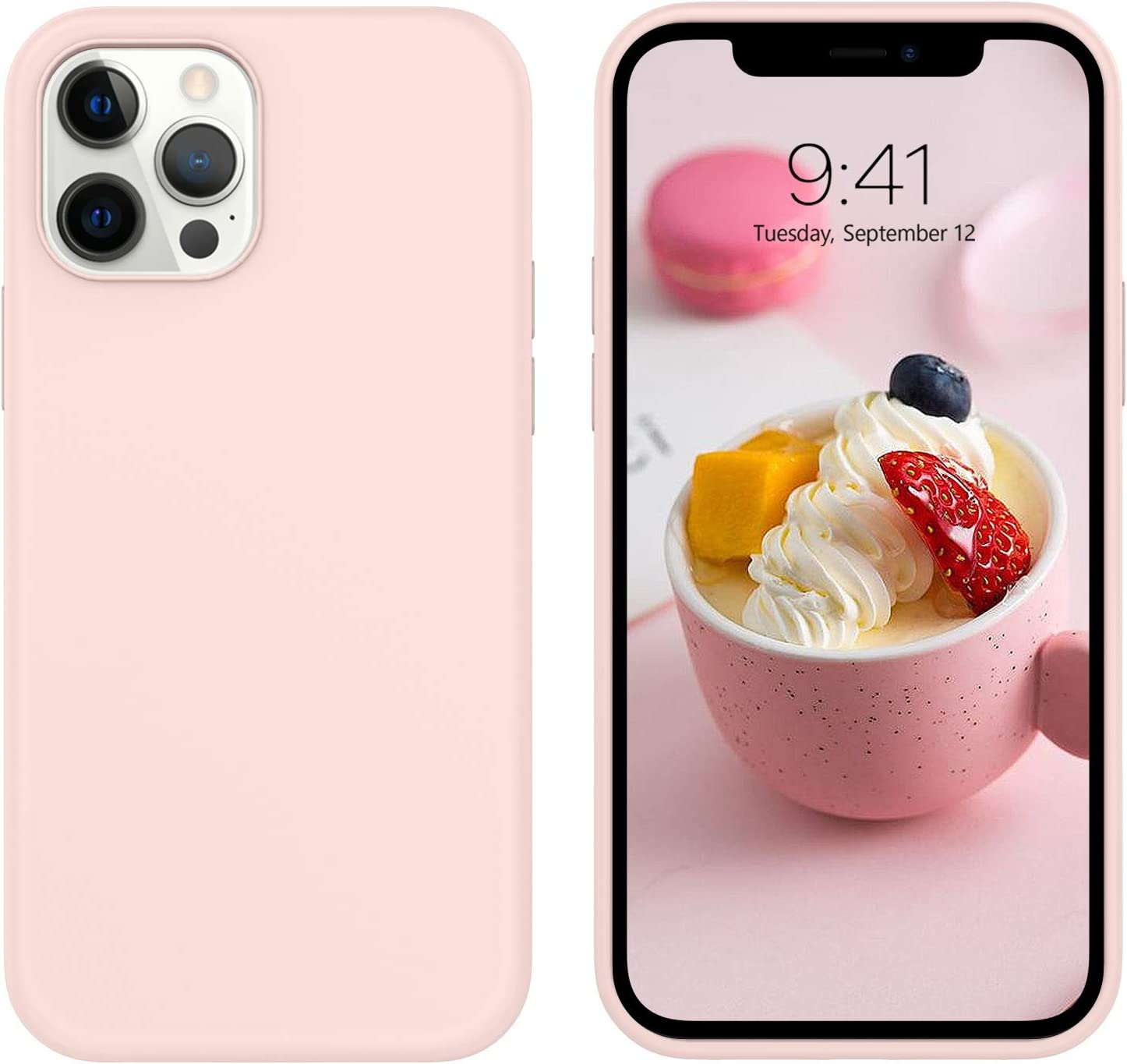 DUEDUE Compatible with iPhone 12 Pro Max Case 6.7