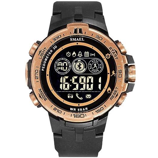 VEHOME Inteligentes SMAEL Bluetooth Smart Sport Reloj de Estilo para Hombre Calorías de Llamada Relojes Digitales Relojes relojero Reloj reloje ...