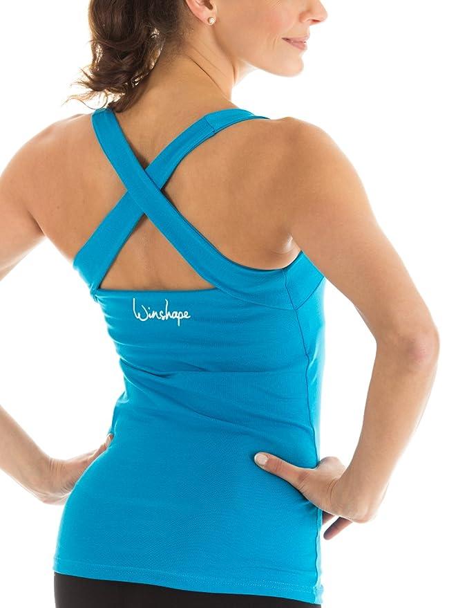 Winshape WVR25 - Camiseta Deportiva para Mujer (diseño de Espalda Cruzada)   Amazon.es  Deportes y aire libre 0a305981b6561