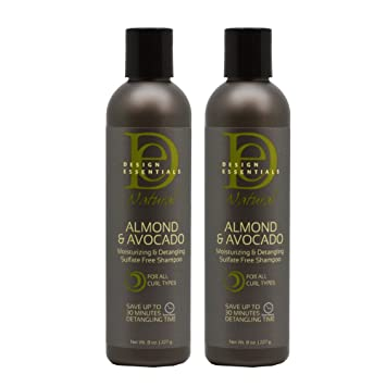 Amazoncom Design Essentials Almond Avocado Moisturizing And