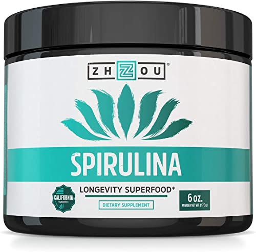 Non-GMO Spirulina Powder - Sustainably Grown in California