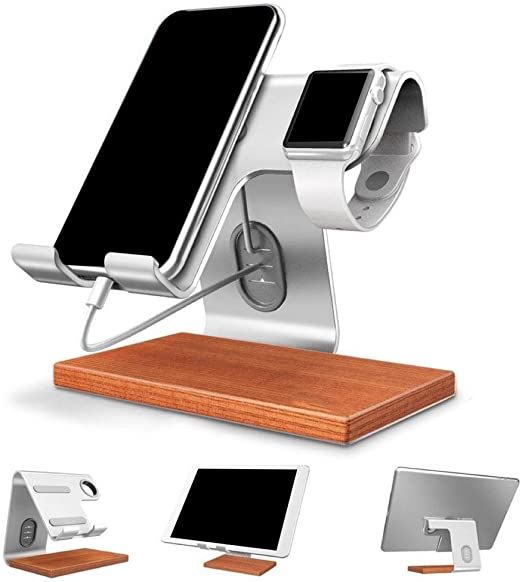 Ting-Times Wooden Mobile Stand Universal Wood Smartphone and for ...
