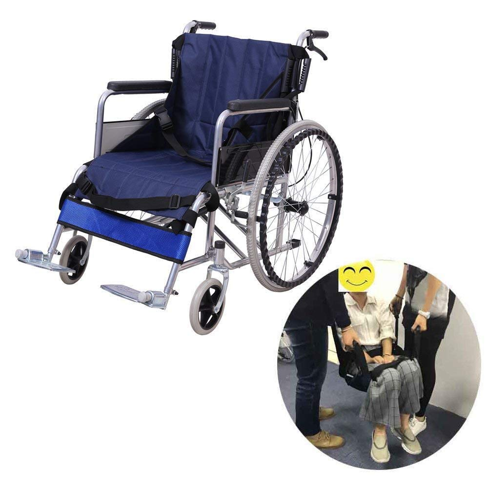 Oxford Fabric Patient Lift Stair Slide Board Transfer Emergency Evacuation Chair Nursing Shift Transfer Belt, for Seniors,Handicap, Handicap by SHKY