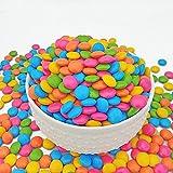 Maayaa Chocolate Candy Buttons, Gems, 250g