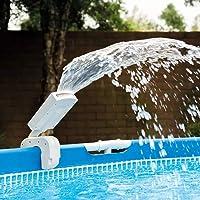 Intex 28089 - Cascada agua vertical con luces led multicolor piscinas 4 colores: Metal y…