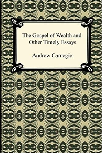 the gospel of wealth and other timely essays andrew carnegie  the gospel of wealth and other timely essays andrew carnegie 9781420937848 com books
