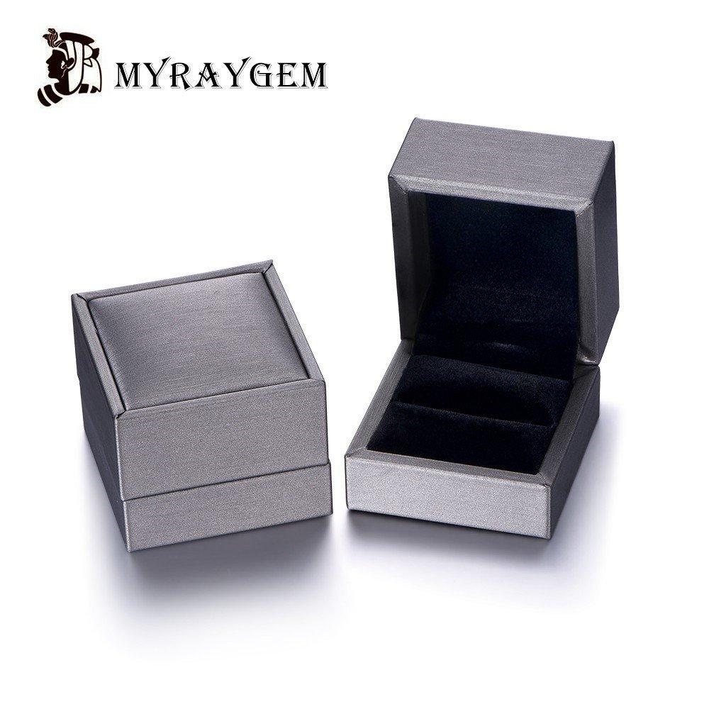 Morganite Engagement Ring Emerald Cut 6x8mm VS Gemstone SI I-J Diamond 14k White Gold,Stacking Band,Bridal Ring,Wedding Ring