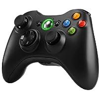 Zexrow Xbox 360 Mando de Gamepad, Mando de Juego inalámbrico con un diseño ergonómico Mejorado Joypad, Gamepad Wireless…