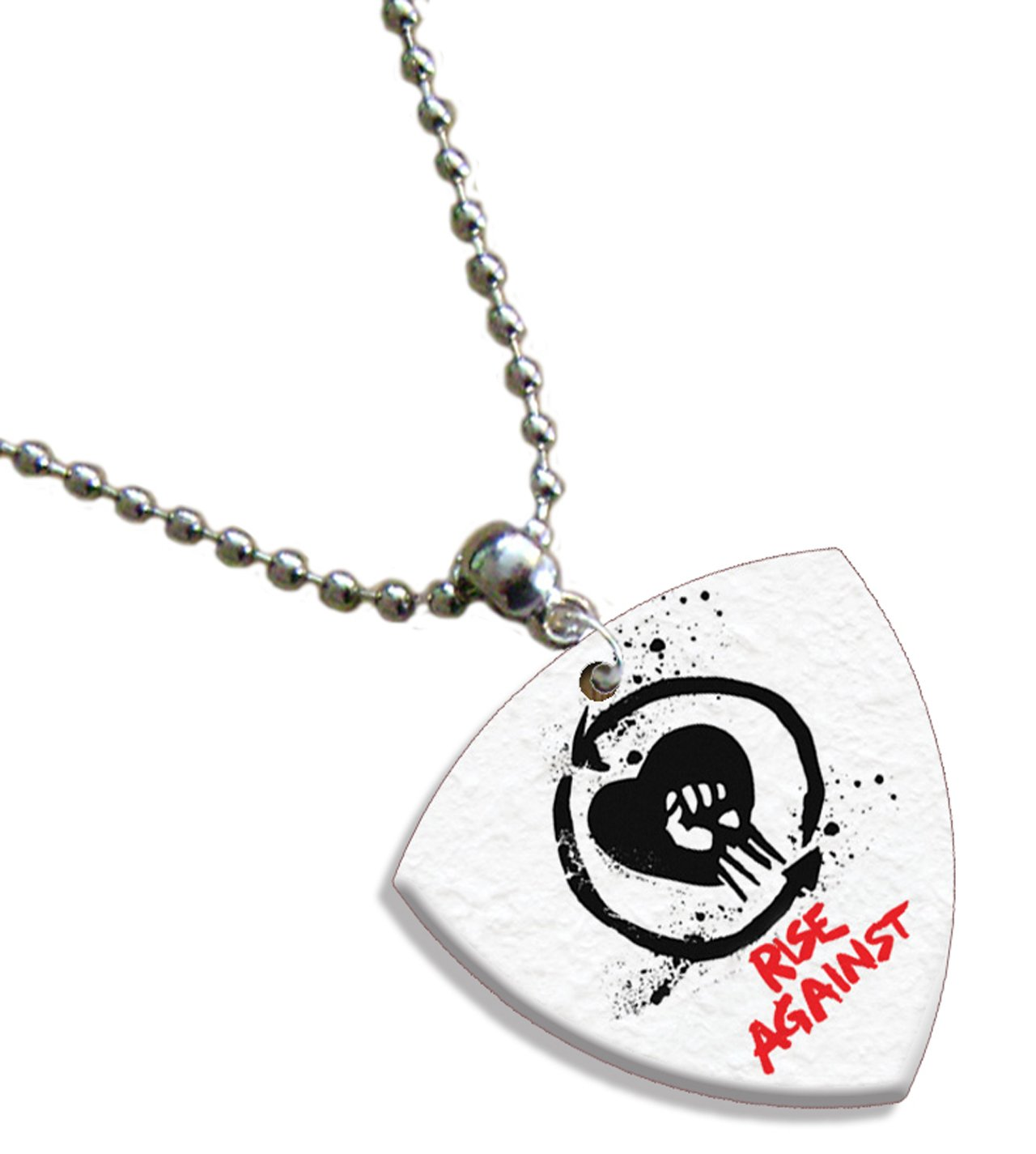 Rise Against kette Bass Guitar plektron Both Sides Printed Printed Guitar Picks