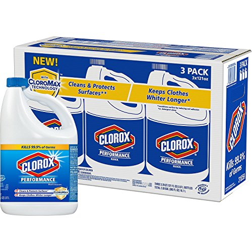 Clorox Performance Bleach with CloroMax, Regular (121 oz. bottles, 3 pk.)