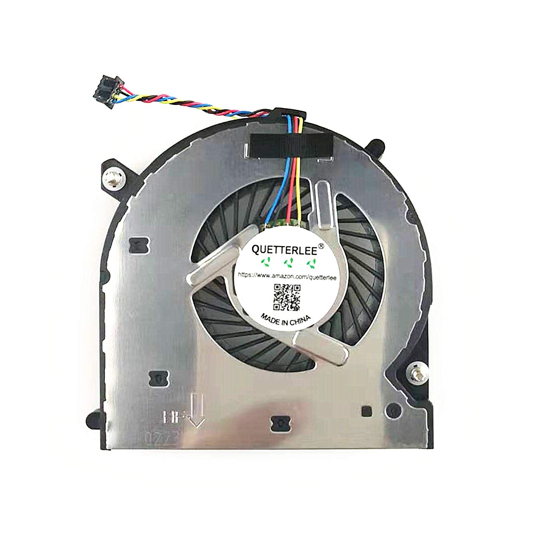 QUETTERLEE New CPU Cooling Fan for HP Elitebook 840-G1 840-G2 850-G1 850-G2 740-G2 745-G2 750-G2 755-G2 740-G1 745-G1 750-G1 755-G1 ZenBook 14 Series P/N: KSB0805HB-CM23 6033B0033202 730792-001 Fan