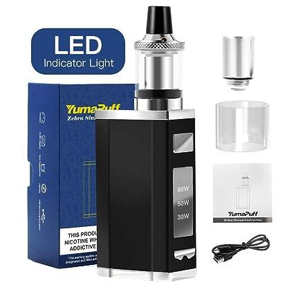 cigarrillos electrónicos, YumaPuff Zebra 80W kit de ...