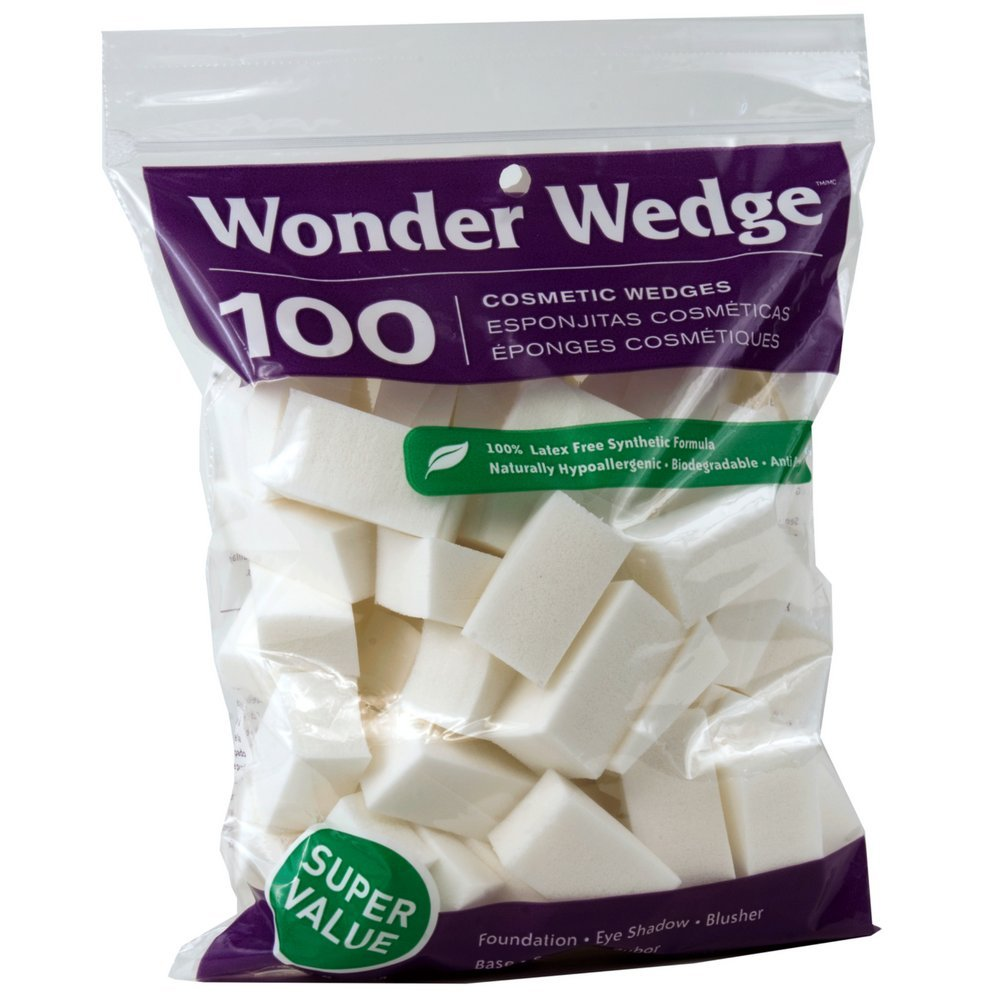 Wonder Wedge 100 Count Cosmetic Wedge 038389060001