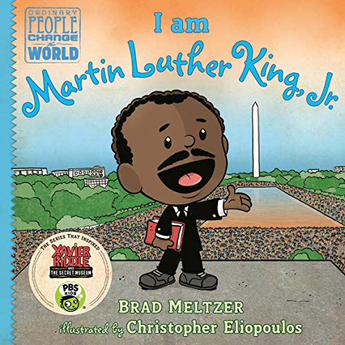 I am Martin Luther King, Jr. (Ordinary People Change the World) (Martin Luther King Jr Biography For Kids)