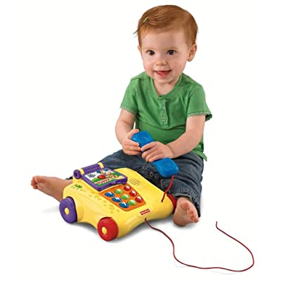 Fisher-Price Laugh & Learn Counting Friends Phone: Toys & Games