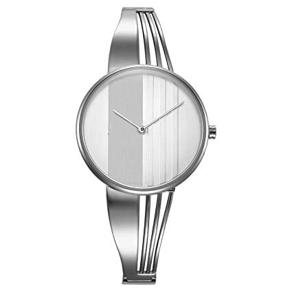 Amazon.com: Reloj de lujo para mujer Relojes de moda oro ...