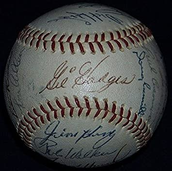 Amazing 1966 Washington Senators Team Signed Baseball Ball Gil Hodges