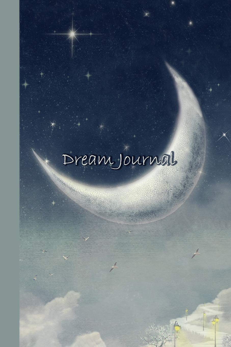 Read Online Dream Journal: Night Moon 6x9 - A Guided Journal for Capturing and Exploring Your Dreams (Guided Journals & Trackers) ebook