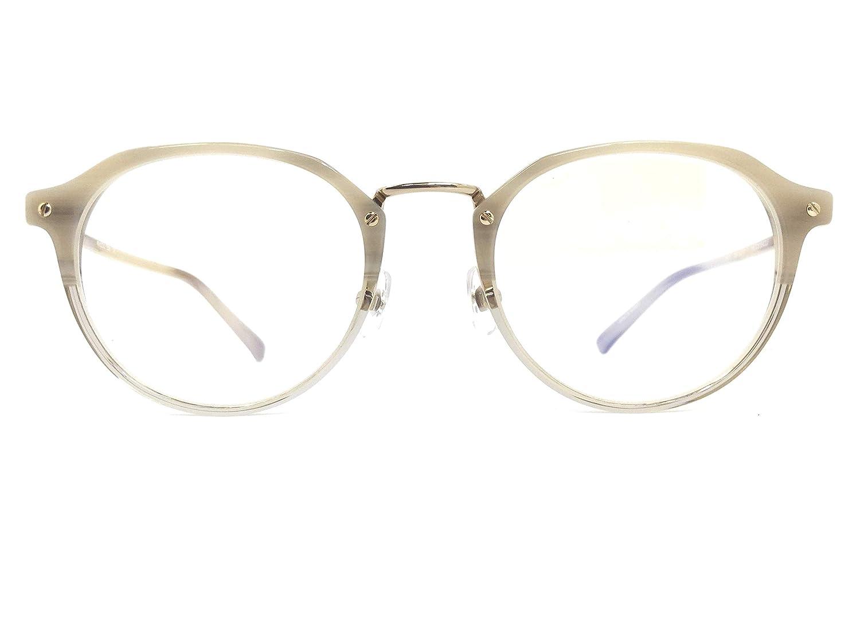 VIKTOR&ROLF(ヴィクターアンドロルフ) メガネ 70-0203 col.4 49mm 日本製 メガネのハヤミセリート付き B07H5FSQYT